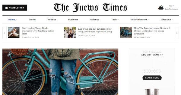 JNews – Social Sharing WordPress Theme