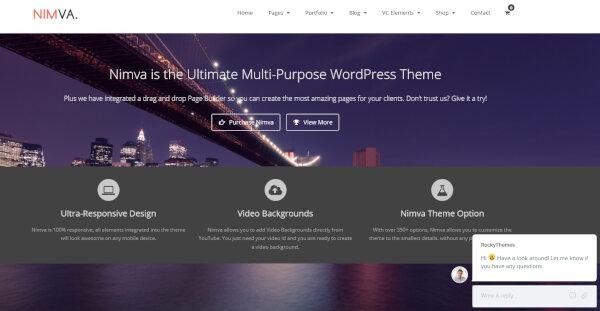 18 nimva ultimate multi purpose wordpress theme home v12