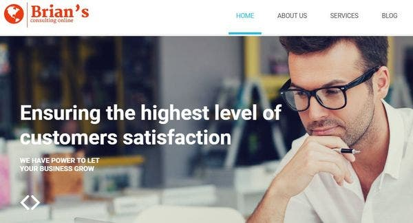 Consulting - Bootstrap WordPress Theme