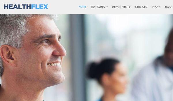 Health Flex – Fully customizable WordPress Theme