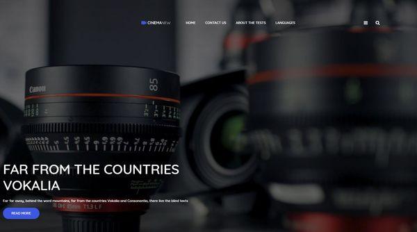 CinemaNew – SMT Framework 2.0 WordPress Theme