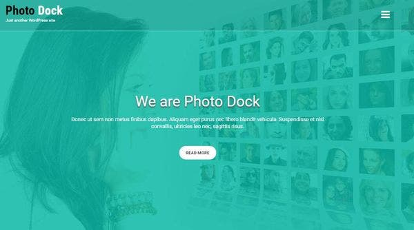 Photodock – Video Slider Compatible WordPress Theme