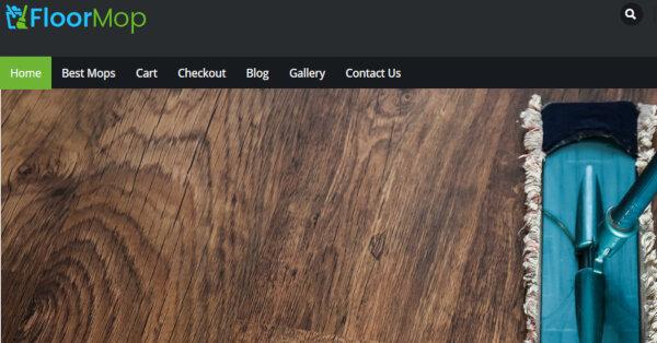 Floor Mop –Admin Panel WordPress Theme