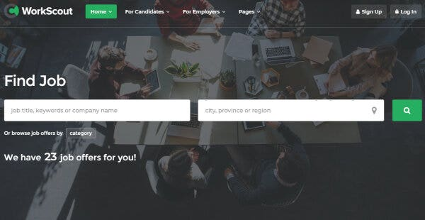 WorkScout – WP Job Manager WordPress Theme
