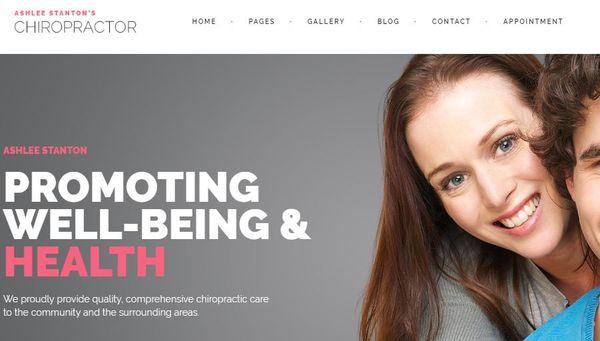 Chiropractor – Unyson framework WordPress Theme