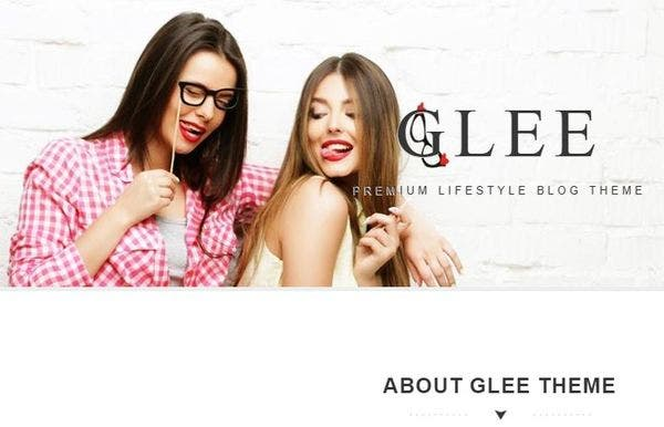 Glee – Unlimited Color WordPress Theme