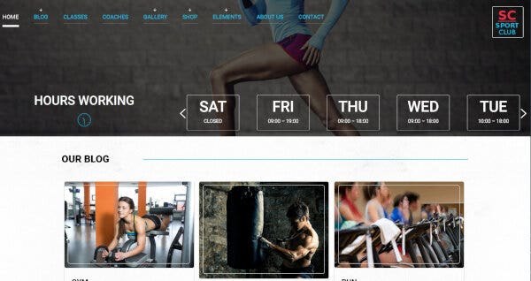 Sport Club - WooCommerce Ready WordPress Theme
