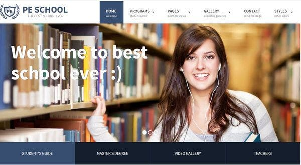 School – WCAG Ready WordPress Theme