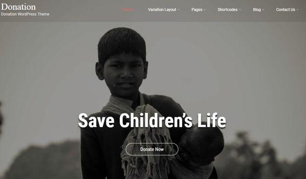 Donation – WooCommerce Compatible WordPress Theme