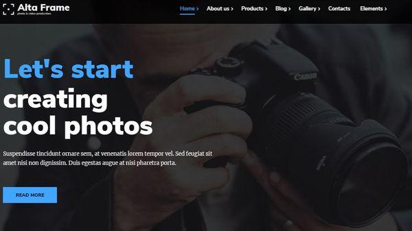 Altaframe – Visual Composer Supported WordPress Theme
