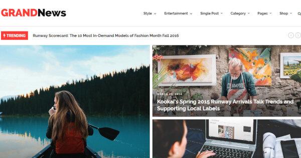 GN TechNews – SEO Friendly WordPress Theme