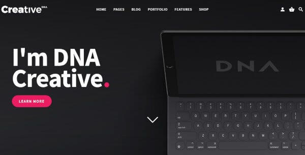 DNA – Retina Ready WordPress Theme
