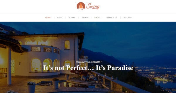 Swing Lite – Customizable WordPress Theme