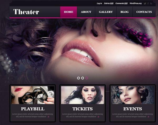 Entertainment – Bootstrap Framework WordPress Theme