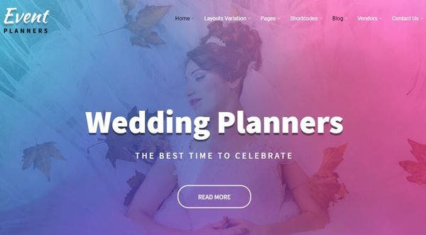 Event Planners Pro – Full Documentation WordPress Theme