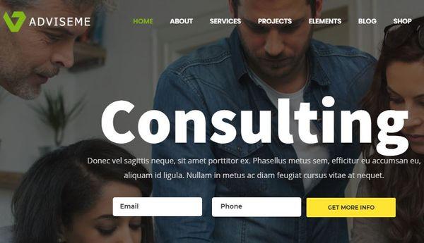 Adviseme – WooCommerce Integrated WordPress Theme