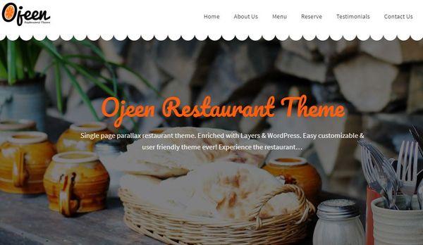 Ojeen – Layers Slider WordPress Theme