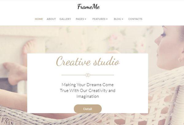 FrameMe – Mobile-First WordPress Theme