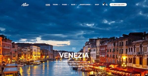 Travel Tour – Advanced Tour Search WordPress Theme