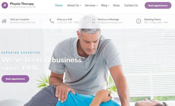 Physio – Underscores WordPress Theme