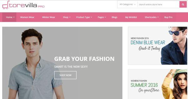 StoreVilla Pro – Advanced Typography WordPress Theme