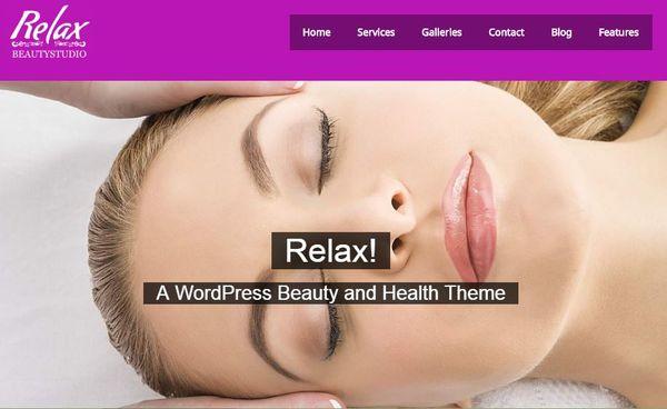 Relax – SEO WordPress Theme