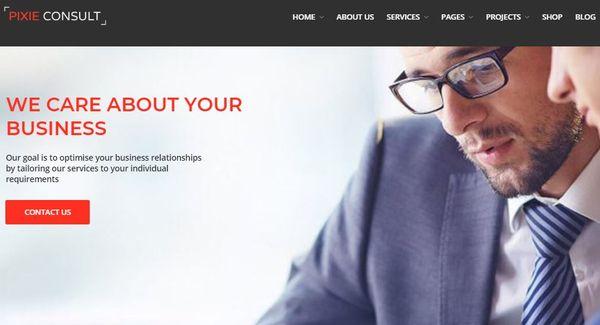 Pixie Consulting – LayerWP Based WordPress Theme
