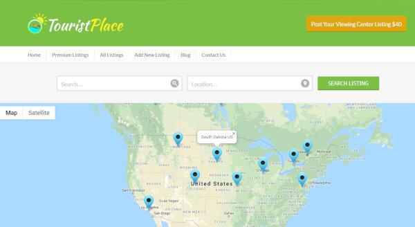 TouristPlace – Google Map Integrated WordPress Theme