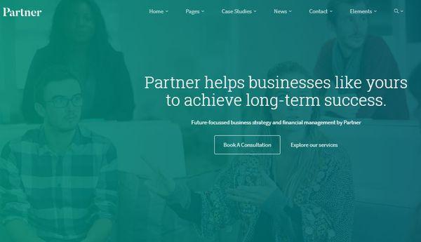 Partner – Visual Composer WordPress Theme