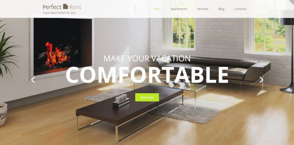 Perfect Rent – Built-in Live Search WordPress Theme