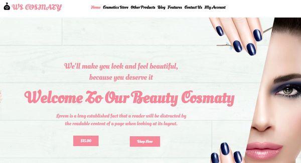 WS Cosmaty – Blog WordPress Theme