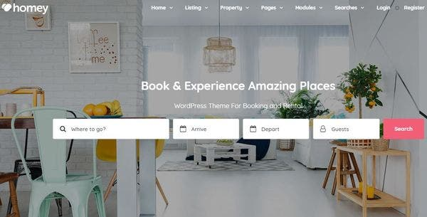 Homey – User-Friendly WordPress Theme