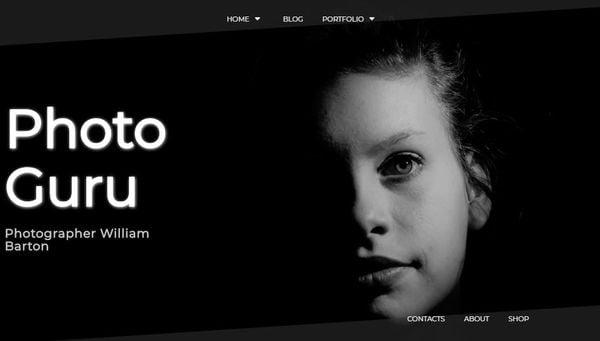 Photo Guru – Grids Layout WordPress Theme