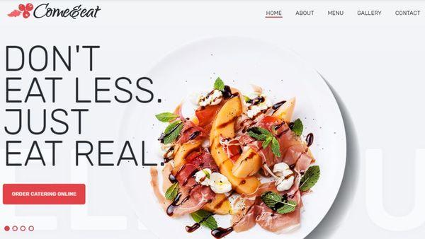 Come&Eat – JetElements Widget WordPress Theme