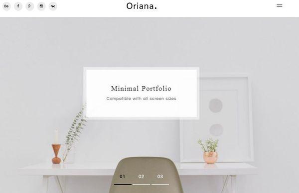Oriana – Translation ready WordPress Theme