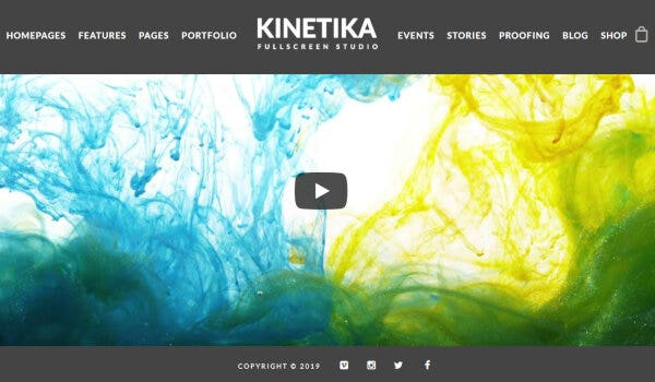 Kinetika – iMaginem Plugin Supported WordPress Theme