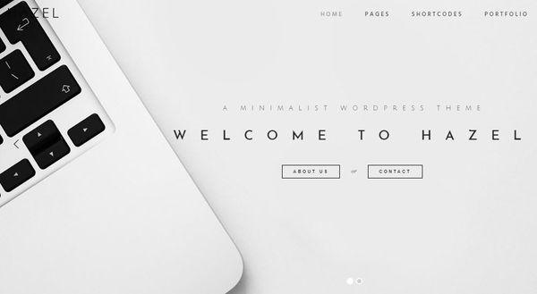 Hazel – Visual Composer WordPress Theme