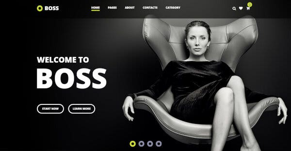 Boss – Warp 7 Framework WordPress Theme