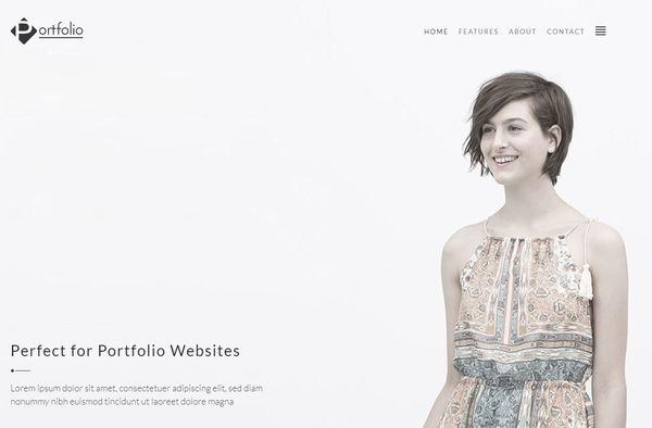 Portfolio – Responsive WordPress Theme