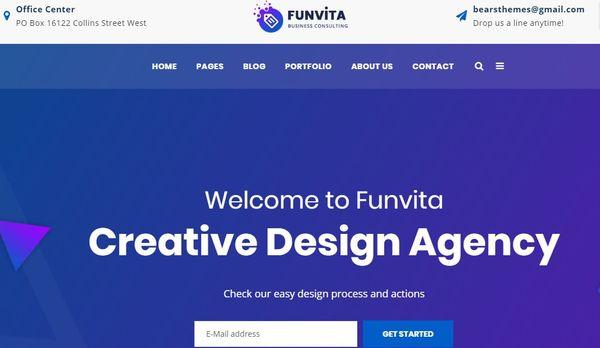 Funvita – WPBakery Page Builder WordPress Theme