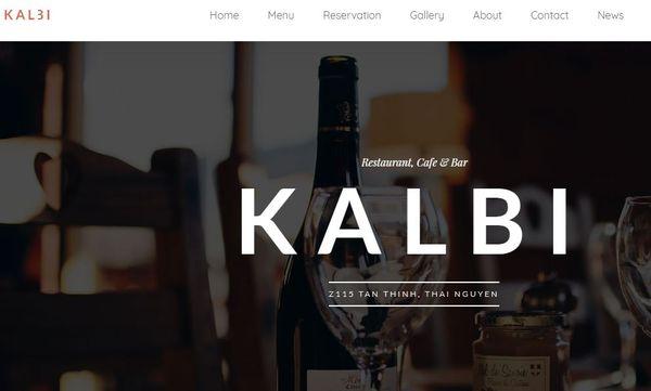 Kalbi – Powerful Admin Panel WordPress Theme