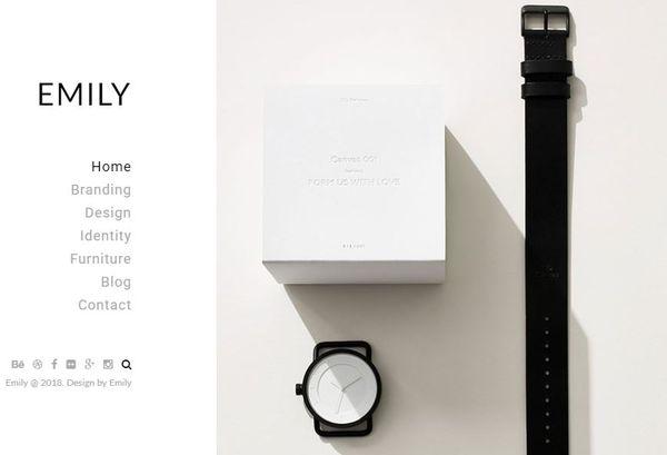 Emily – Retina Ready WordPress Theme