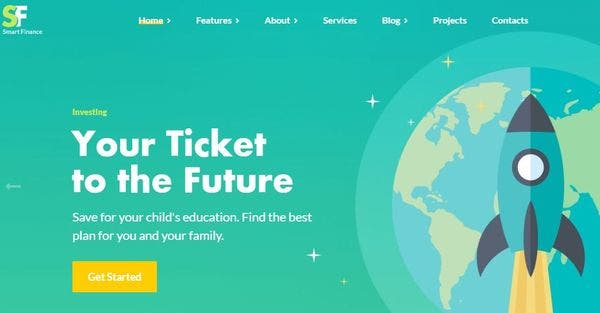 Smart Finance – WPBakery Page Builder WordPress Theme