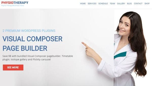 Physiotherapy – Gutenberg WordPress Theme