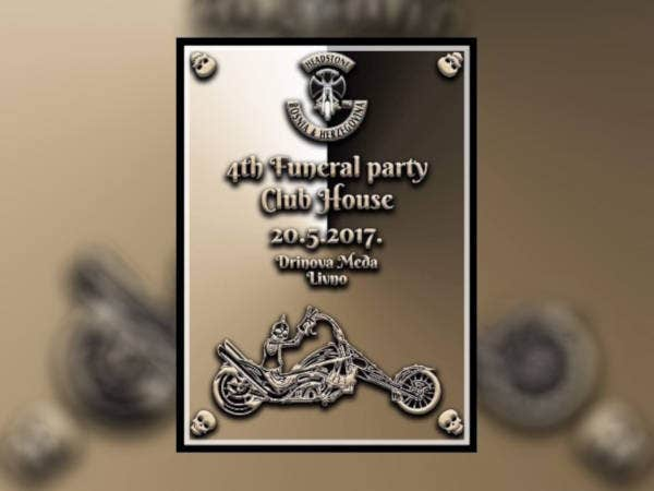 4th Funeral Party Poster
