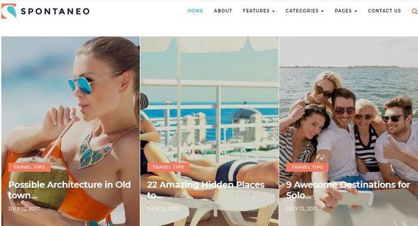 Spontaneo – Business WordPress Theme