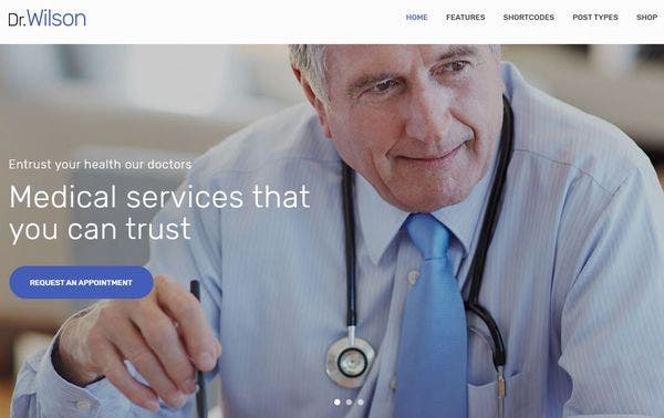 Doctor Wilson – Navigation Ready WordPress Theme