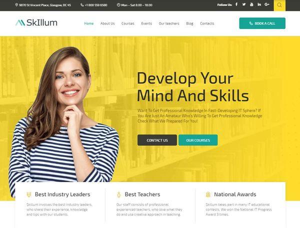 SkIllum – Jet WordPress Theme