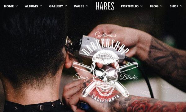 Hares – Multiple Homepage WordPress Theme