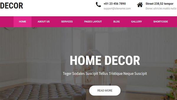 Décor – SEO Optimized WordPress Theme